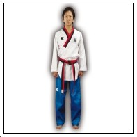 TKD Poomsae Uniform Poom Competition Diamond Herren