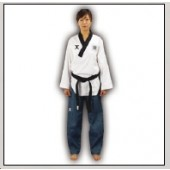TKD Poomsae Uniform JCalicu Dan Competition Gerippt Damen