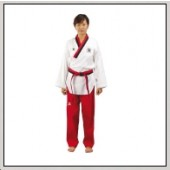 TKD Poomsae Uniform Poom Competition Gerippt Damen