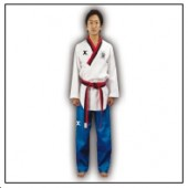 TKD Poomsae Uniform Poom Competition Gerippt Herren
