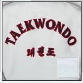 TKD Uniform Champion Diamond mit Rückenbestickung