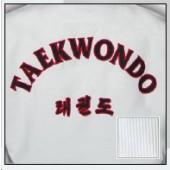 TKD Uniform Kyorugi Club gerippt mit Rückenbestickung