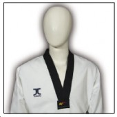 TKD Uniform JCalicu Champion Diamond mit schwarzem Revers